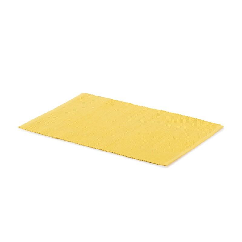 Rebrasti kuhinjski podmetač od 100% pamuka štiti vaš stol od mrlja te je istovremeno prekrasan ukras za vašu blagovaonicu i stol. Rebrasti dizajn za još bogatiji i ljepši izgled stola. Rebrasta površina za bolje prijanjanje i veću stabilnost tanjira i čaša na stolu. Jednostavno održavanje omogućuje vam da lako uklonite mrlje od hrane ili pića. Podmetač je periv na 40°C.