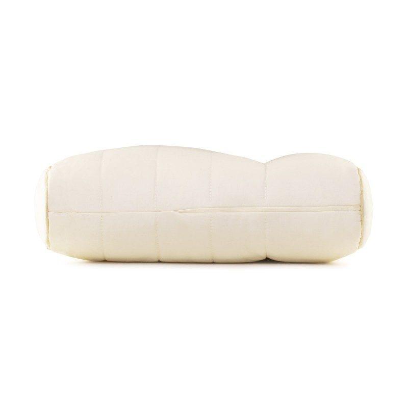 Jedinstvena kombinacija klasičnog i višeg anatomskog jastuka od bambusa oduševiće vas udobnošću jer mu možete prilagoditi visinu i tvrdoću. Jastuk je idealan izbor za sve koji imaju šira ramena i najčešće spavaju na boku. Jastuk je potpuno periv na 60 °C.