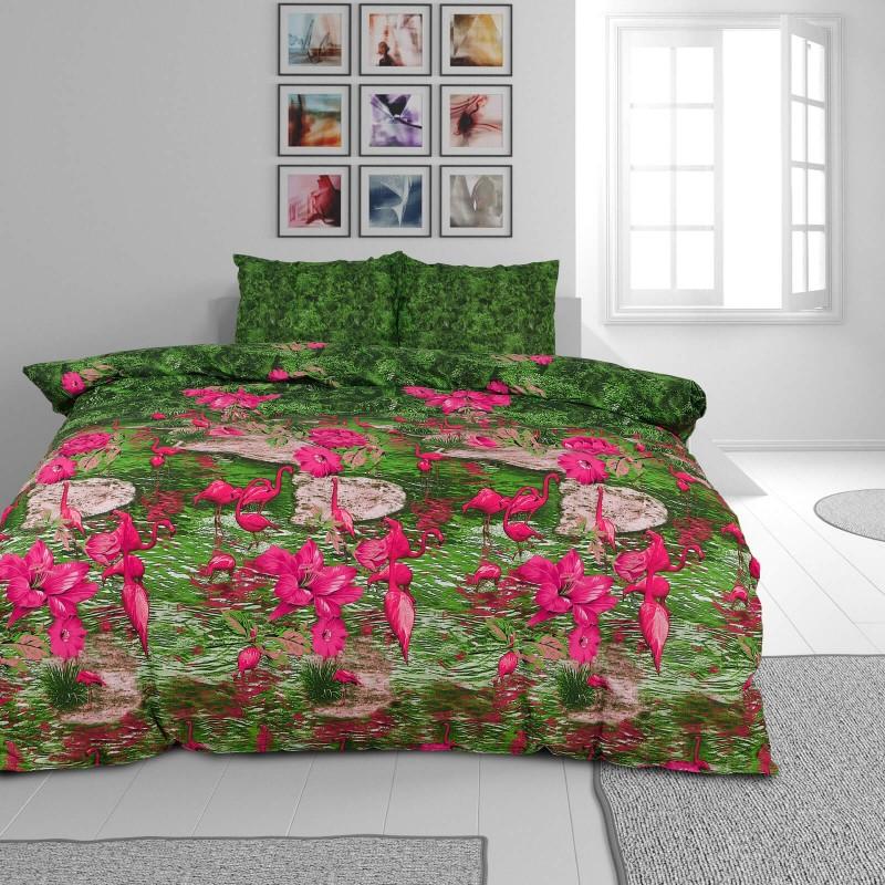Vrijeme je za potpuno uživanje u modernim pamučnim posteljinama! Posteljina Chaman od renforce platna, mekane tkanine, jednostavne za održavanje. Posteljina je prekrasan ukras vaše spavaće sobe, a u isto vrijeme odličan izbor za udoban i ugodan san. Moderan dizajn s natpisom će vas zasigurno oduševiti. Posteljina je periva na 40 °C.