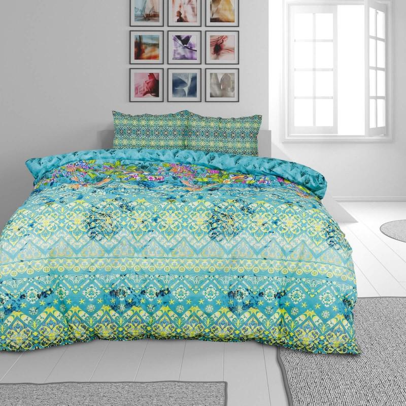 Vrijeme je za potpuno uživanje u modernim pamučnim posteljinama! Posteljina Paradise Garden od renforce platna, mekane tkanine, jednostavne za održavanje. Neka vas oduševi moderan dizajn sa životinjskim uzorkom za udoban i ugodan san. Posteljina je periva na 40 °C.