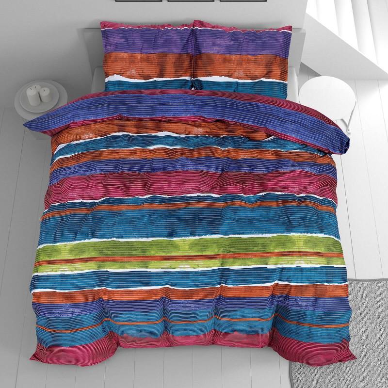 Vrijeme je za potpuno uživanje u modernim pamučnim posteljinama! Posteljina Minela od mekanog pamučnog satena, koji je satkan od visokokvalitetnog, tankog tkanja. Posteljina od satena je prekrasan ukras vaše spavaće sobe, a u isto vrijeme odličan izbor za udoban i ugodan san. Posteljina je periva na 40 °C.