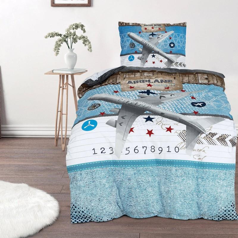 Vrijeme je za miran i udoban san vaših najmlađih! Pamučna posteljina sa zanimljivim dječjim motivom koji će zasigurno oduševiti djecu i odvesti ih u čudesnu zemlju snova. Posteljina Heaven od renforce platna, mekane tkanine, jednostavne za održavanje. Posteljina je periva na 40 C°.