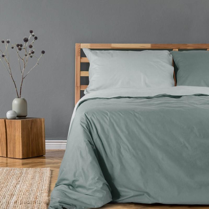 Vrijeme je za ugodno spavanje s modernom pamučnom posteljinom! Posteljina Hunter od renforce platna, lagane i mekane tkanine koja se lako održava. Posteljinu je moguće koristiti s obje strane. Posteljina je periva na 40° C.