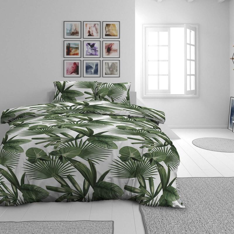Vrijeme je za potpuno uživanje u modernim pamučnim posteljinama! Posteljina Palm Dreams od renforce platna, mekane tkanine, jednostavne za održavanje. Neka vas oduševi moderan dizajn s printom za udoban i ugodan san. Posteljina je periva na 40 °C.