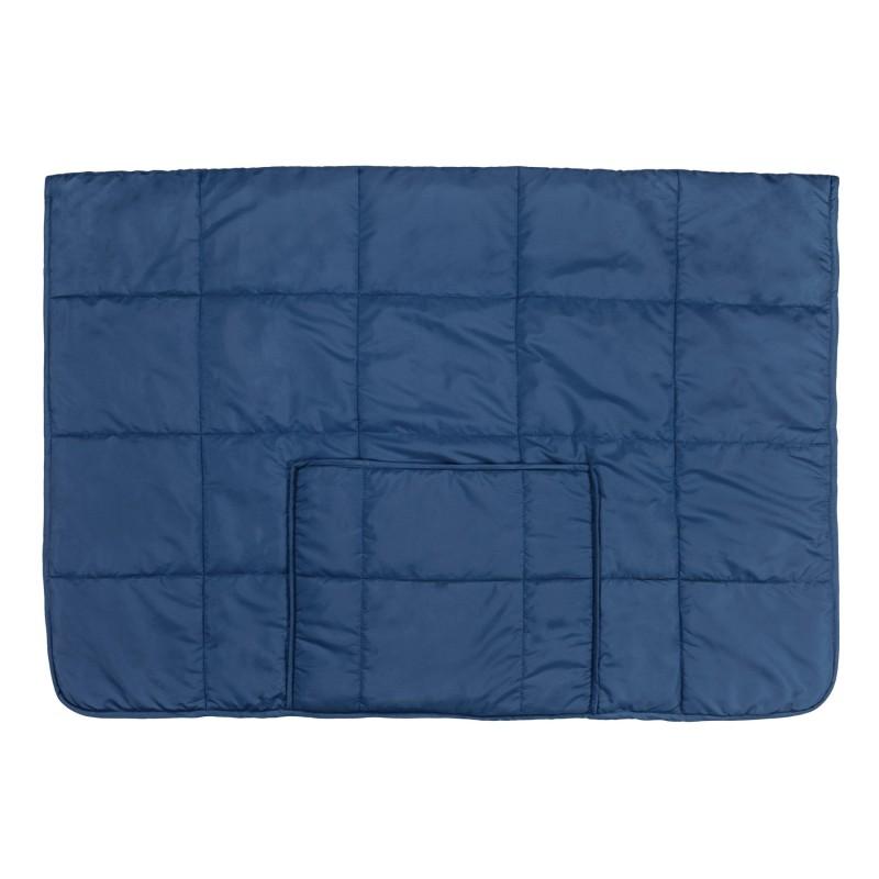 S višenamjenskim pokrivačem SoftTouch 4 u 1 možete se pokriti na kauču u dnevnoj sobi, koristiti ga u automobilu ili na putovanjima. Pokrivač Soft Touch 4 u 1 jednostavno složite u samo nekoliko poteza. Kada je složen lako će poslužiti kao jastuk ili grijač za noge. Pokrivač je izrađen od najkvalitetnijih mikrovlakana. Mekana gornja tkanina i paperjasto punjenje od najnaprednijih mikrovlakana osigurava na dodir mekani pokrivač. Pokrivač je na jednoj strani mekan kao baršun, a na drugoj strani gladak.
