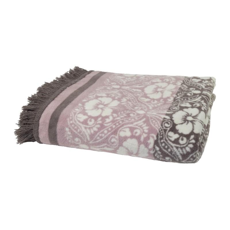 Mekana dekorativna deka Aurum Desiree od kombinacije pamuka, akrila i kvalitetnih mikrovlakana za prijatne trenutke opuštanja na svakom koraku: u spavaćoj sobi, dnevnoj sobi ili na putovanju. Takođe, pogodno je kao ljetnji prekrivač ili dodatni pokrivač zimi. S elegantnim uzorkom ruža i rubom s resama, savršen je dodatak bilo kom prostoru. Dekorativna deka takođe može biti odličan poklon koji će oduševiti vaše najdraže.  Periva na 30 °C.