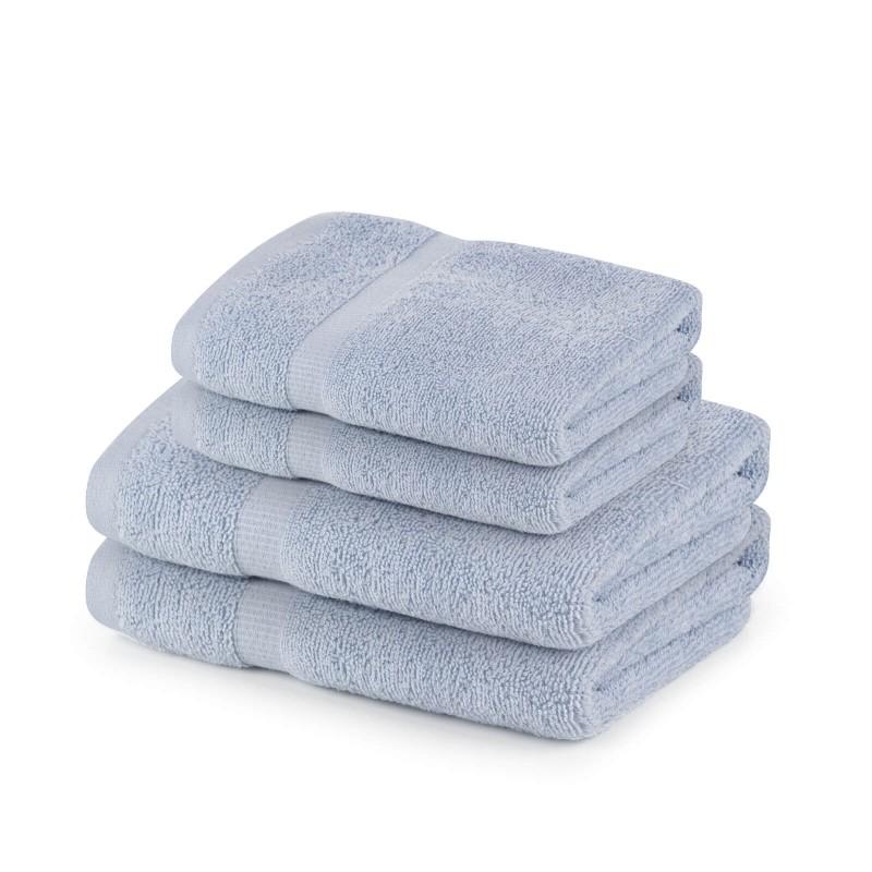 Doživite raskošnu udobnost u svom kupatilu! Kvalitetni peškir Evelin od pamučnog frotira je izdržljiv, mekan, odlične apsorpcije i brzo se suši. Klasični i jednobojni peškir s jednostavnom bordurom na rubu. Peškir je periv na 60 °C.