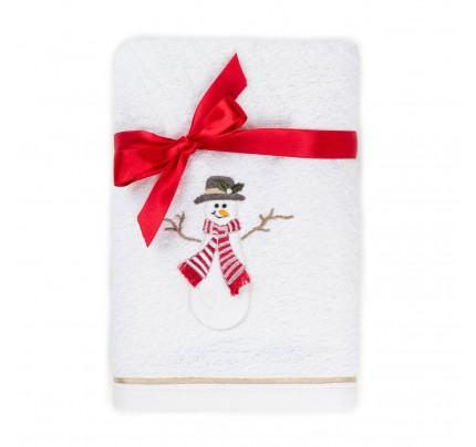 Peškir s novogodišnjim motivom Svilanit Snowman
