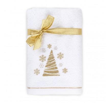 Peškir s novogodišnjim motivom Svilanit Snowtree