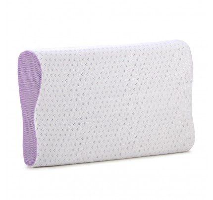 Anatomski jastuk od memorijske pjene Vitapur Family Lavender Memory - 30x50x7/9 cm