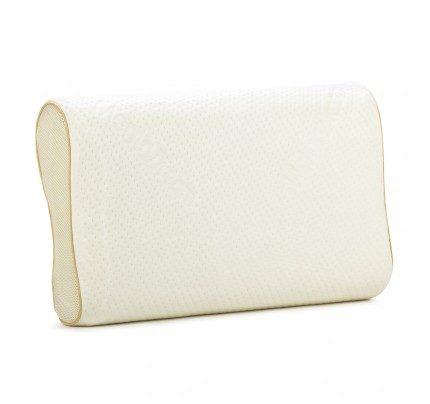 Anatomski jastuk od memorijske pjene Hitex MemoDream - 32x52x11,5/9,5 cm