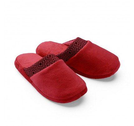 Ženske papuče Vitapur Family SoftTouch Home – crvene