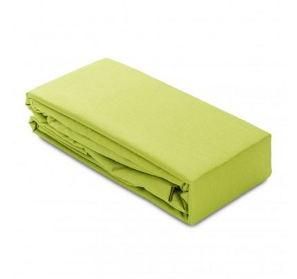 Pamučna elastična plahta/čaršaf Ivonne - zelena