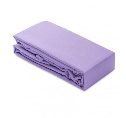 Pamučna elastična plahta/čaršaf Ivonne - ljubičasta