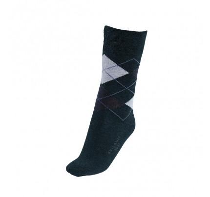 Čarape muške sokne Svilanit Marshal - karo teget