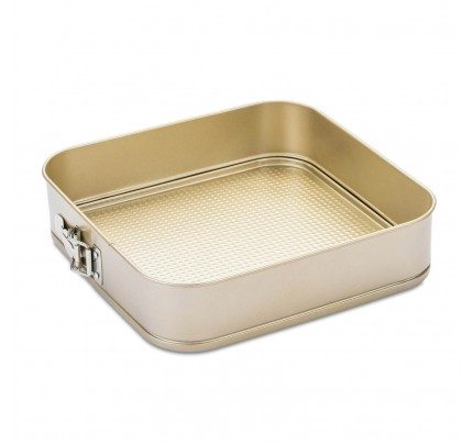 Četvrtasti kalup za tortu Rosmarino Baker Golden 28 cm