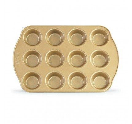 Pekač za muffine Rosmarino Baker Gold