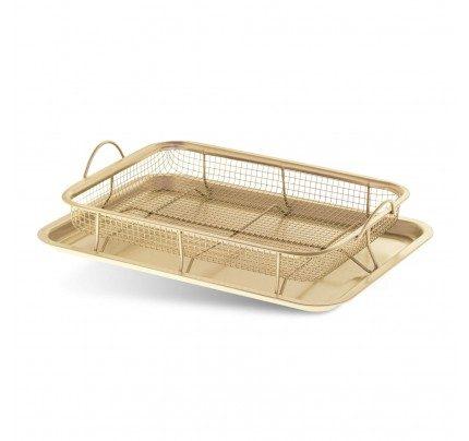 Pekač Rosmarino Baker Golden Crisper sa mrežicom