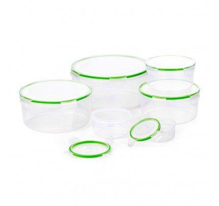 12-dijelni set okruglih posuda za čuvanje hrane Rosmarino