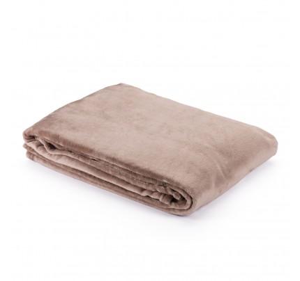 Dekorativni pokrivač Vitapur Anna - smeđi