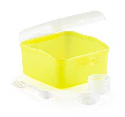 Prenosna posuda za salatu Rosmarino - žuta