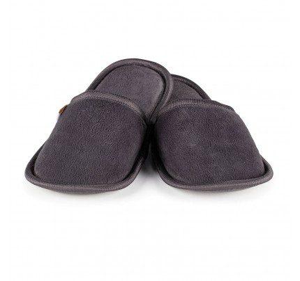 Kućne papuče sa mekanim đonom Vitapur SoftTouch II - siva