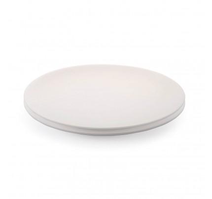 Set od dva plitka tanjira od porcelana Rosmarino Cucina Bianca - 25 cm