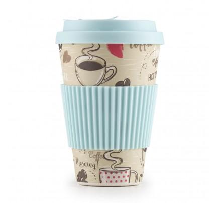 Šolja za kafu od bambusa Hot Coffee - 400 ml