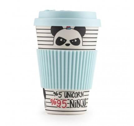 Šolja za kafu od bambusa Panda