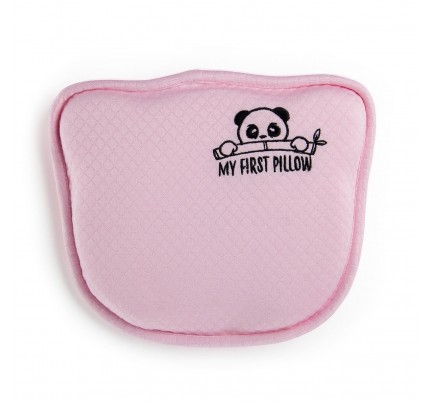 Dječji anatomski jastuk Vitapur Panda  - rozi