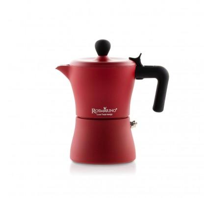 Kafetijera Rosmarino 150 ml - crvena
