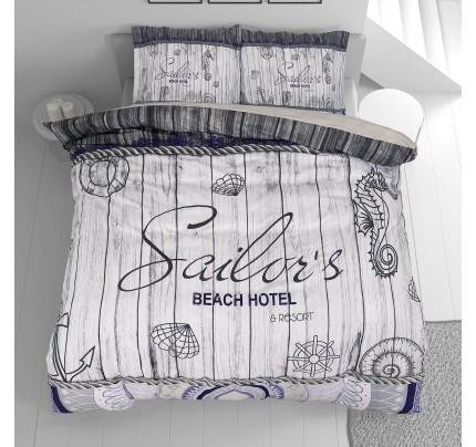 Pamučna posteljina Svilanit Sailor