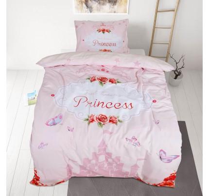 Dječja pamučna posteljina Svilanit Cute Castle