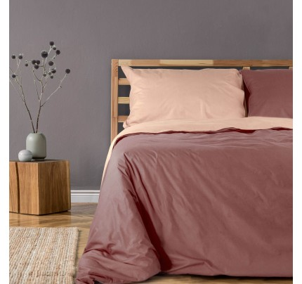 Dvostrana pamučna posteljina Svilanit French Rose