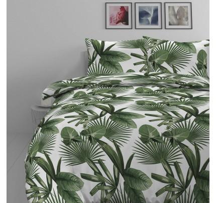 Pamučna posteljina Svilanit Palm Dreams