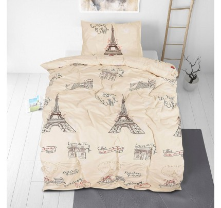 Dječja pamučna posteljina Svilanit Paris Dream