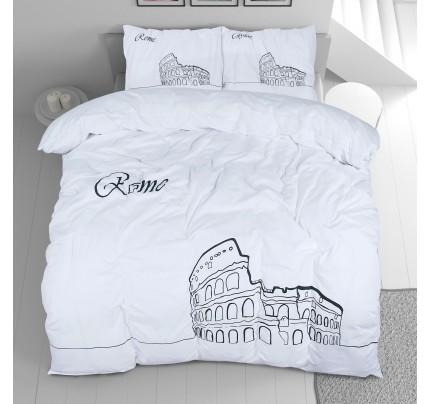 Pamučna posteljina Svilanit Day in Rome