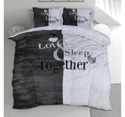 Pamučna posteljina Svilanit Love Sleep Together