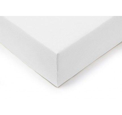 Pamučna plahta sa gumom Vitapur Lyon - bijela
