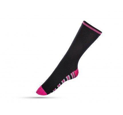 Čarape ženske sokne Svilanit Marshal - pink linije