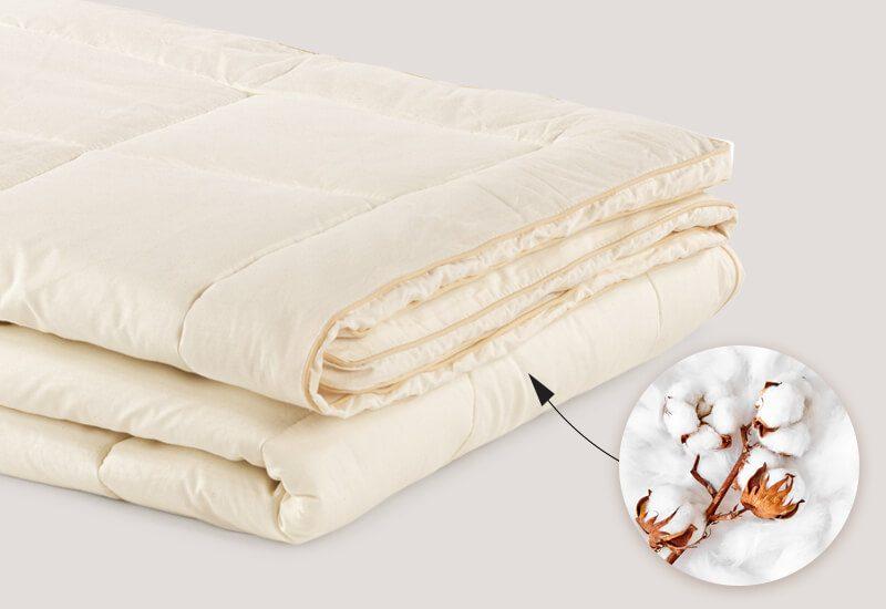 Navlaka od 100% nebijeljenog pamuka koji je izuzetno prijatan za kožu