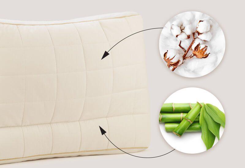 Navlaka od 100% nebijeljenog pamuka sa bambusovim vlaknima za dodatnu svježinu i higijensko okruženje za spavanje