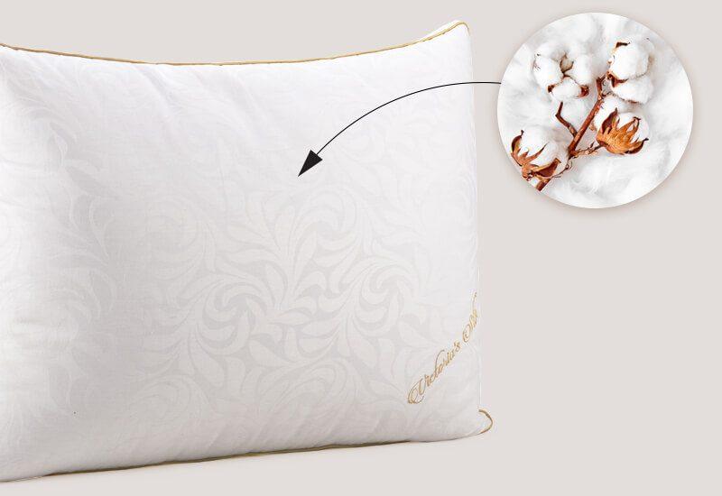 Navlaka od 100% pamuka za svježinu i higijensko okruženje za spavanje