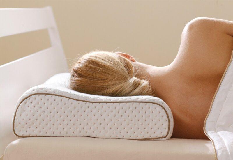 Viši anatomski jastuk za sve koji spavaju na boku ili leđima