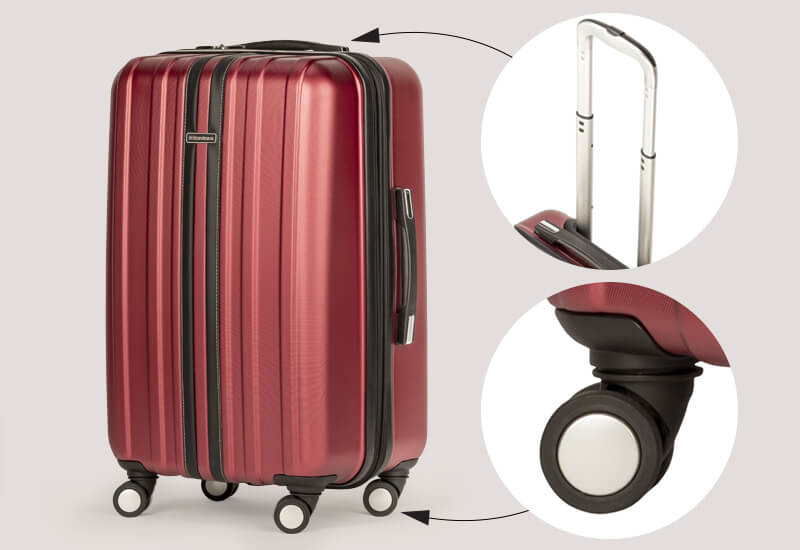 Praktičan kofer odličnog kvaliteta
